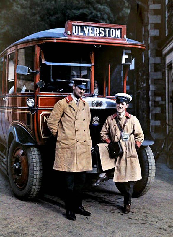 3141 Англия на цветных фото 1928 года