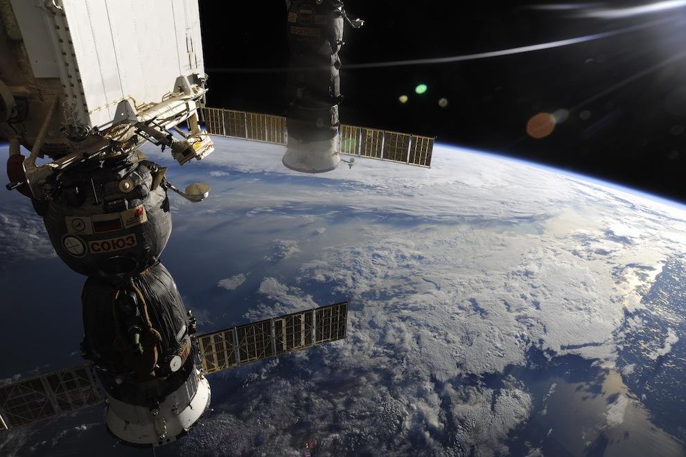 фото россии из орбитальной станции музыки