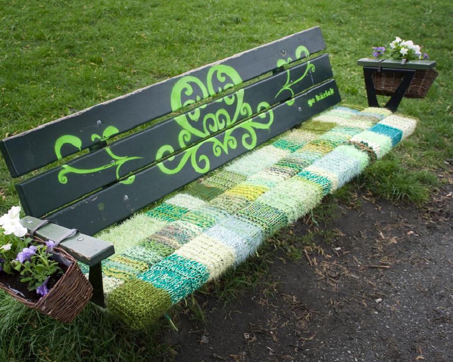 32104 Urban knitting   Шерстяной стритарт