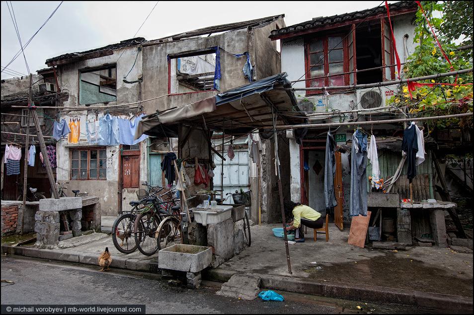 中国贫民窟风景_3273中国:上海的贫民窟
