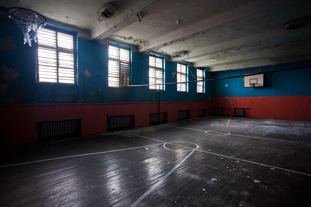 3422 Заброшенная школа на Кольском полуострове