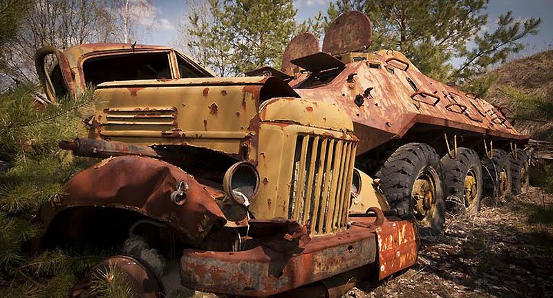 3424 Два дня на мотоцикле в чернобыльской зоне