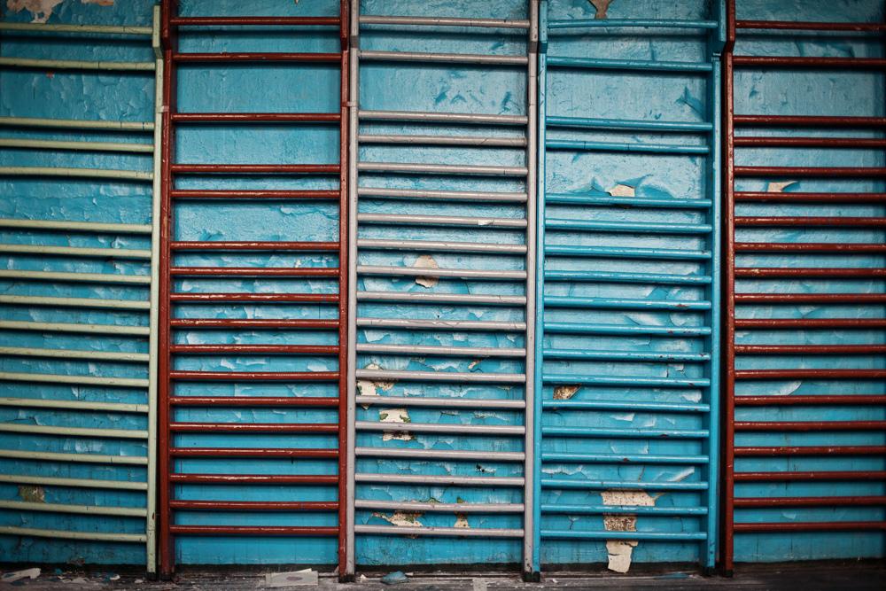 3521 Заброшенная школа на Кольском полуострове