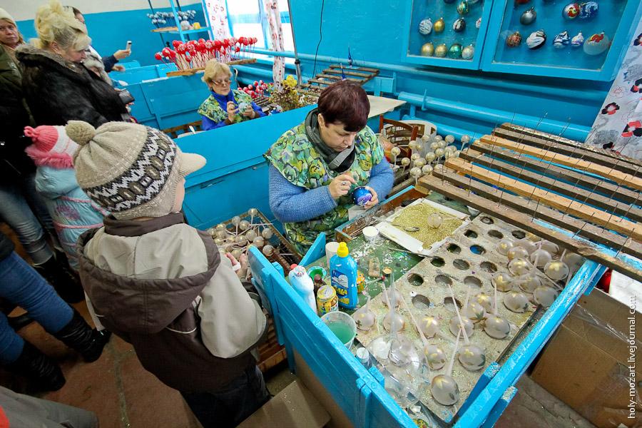 3524 Фабрика ёлочных игрушек