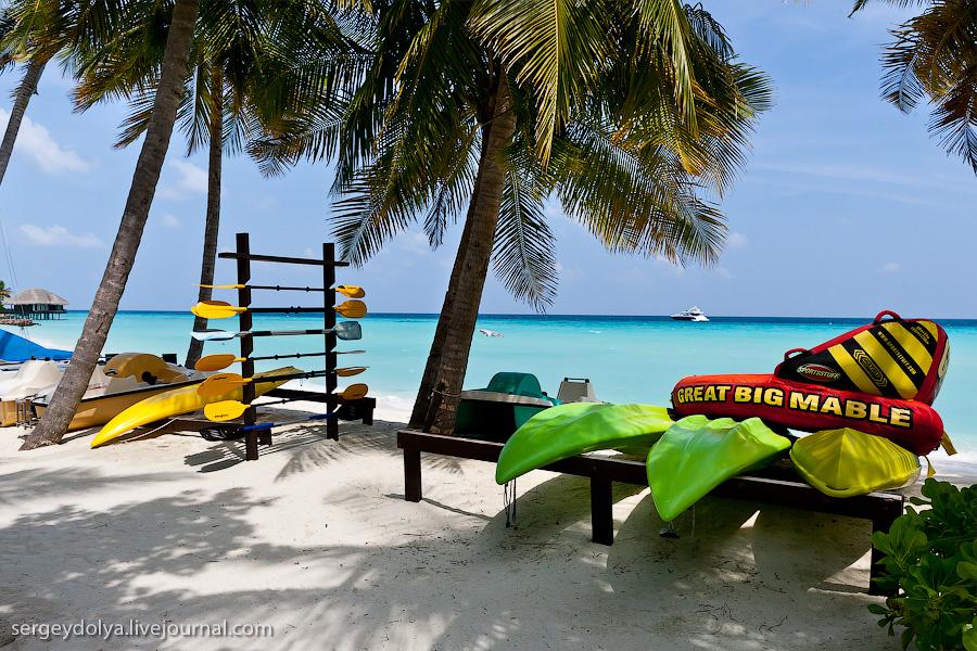 3528 Лучший в мире курортный отель на Мальдивах