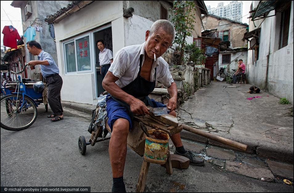 3637 Китай: Шанхайские трущобы