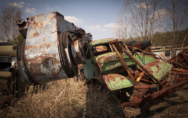 3721 Два дня на мотоцикле в чернобыльской зоне