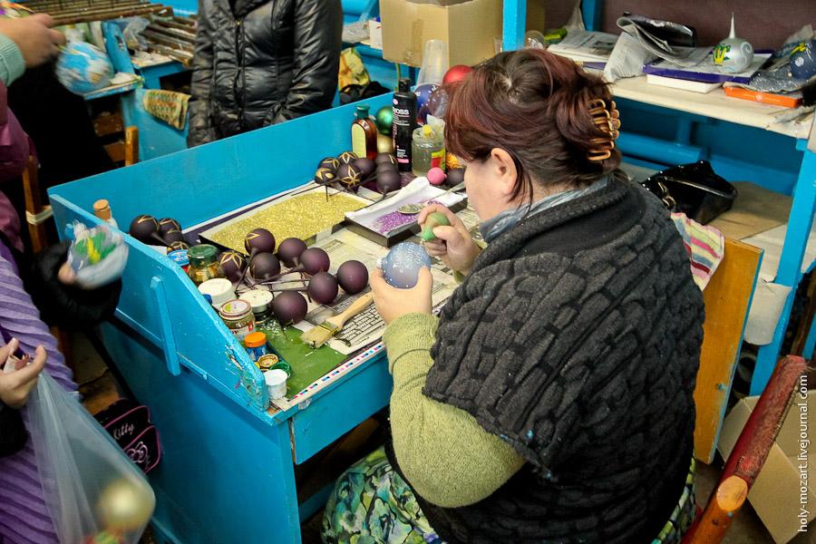 3722 Фабрика ёлочных игрушек