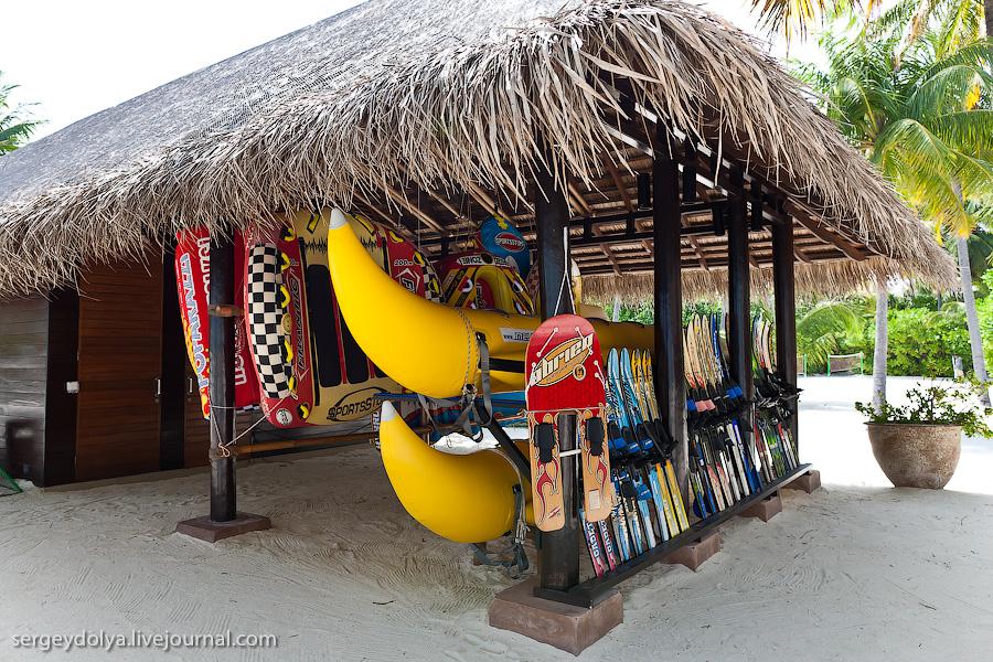 3726 Лучший в мире курортный отель на Мальдивах