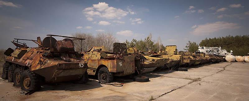 4018 Два дня на мотоцикле в чернобыльской зоне