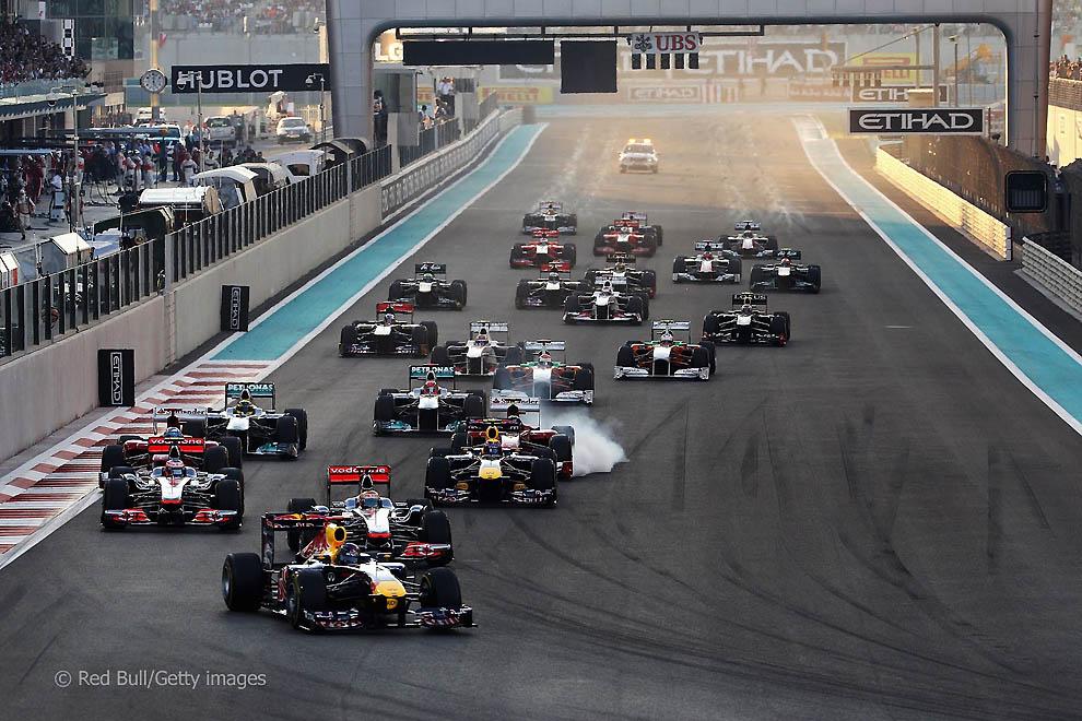 За кулисами Гран-при Абу-даби 2011: фоторепортаж
