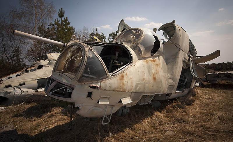 4222 Два дня на мотоцикле в чернобыльской зоне