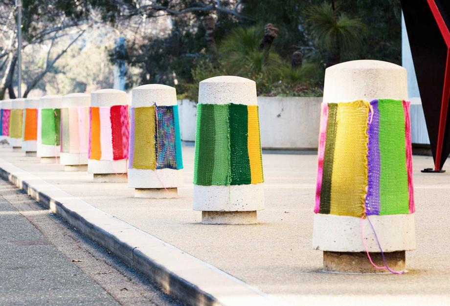 4283 Urban knitting   Шерстяной стритарт