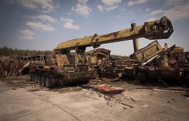 4320 Два дня на мотоцикле в чернобыльской зоне