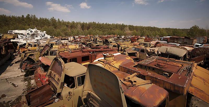 4418 Два дня на мотоцикле в чернобыльской зоне