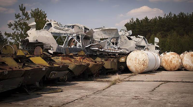 4517 Два дня на мотоцикле в чернобыльской зоне