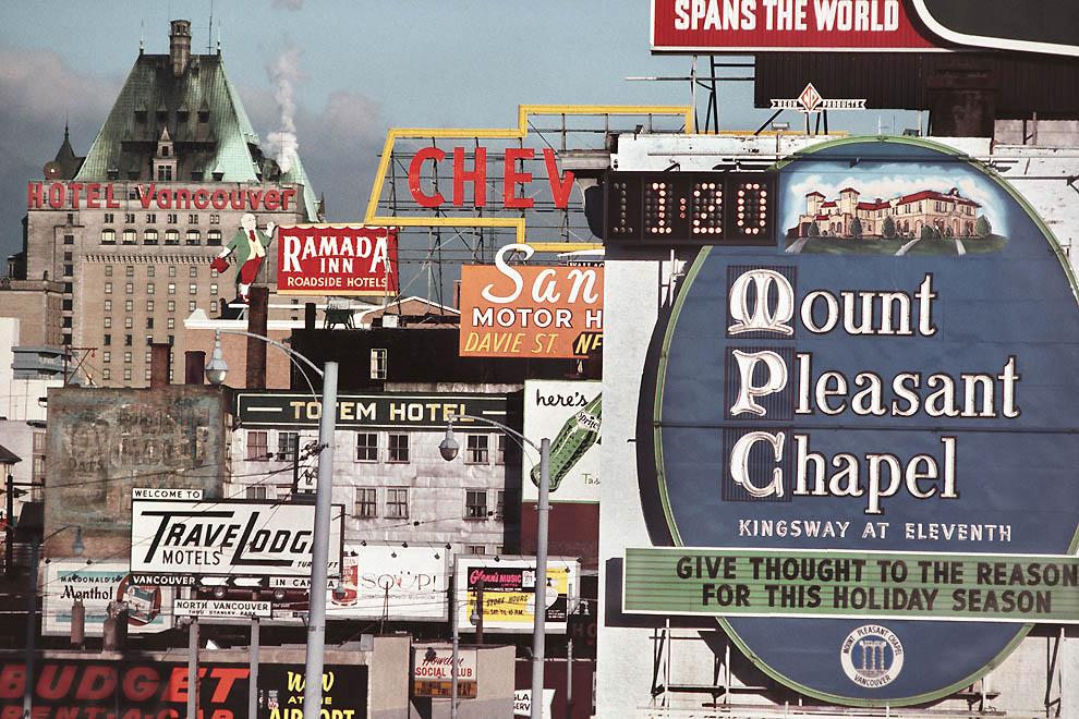 5103 Цветные фотографии Фреда Херцога из 1960 х: Ванкувер и не только
