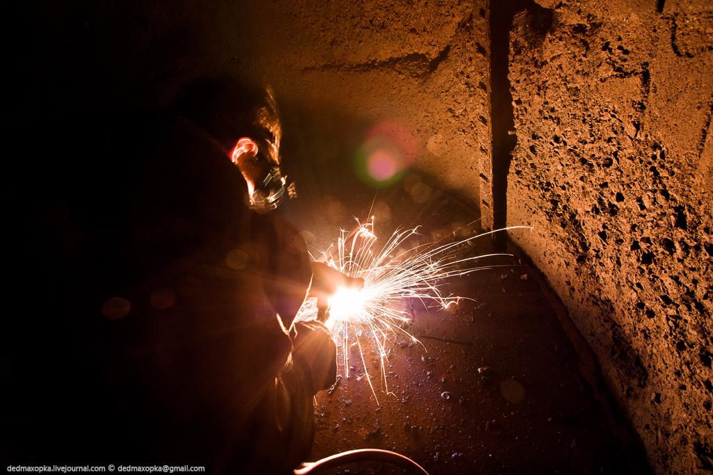 Tambang bijih Ditinggalkan 5127 besi