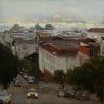 Син-Яо Цень – новый самородок современной живописи, исследующий красоту города
