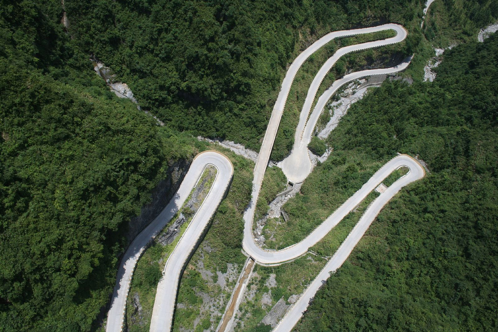 5166 Дорога в небеса – самая страшная дорога Китая