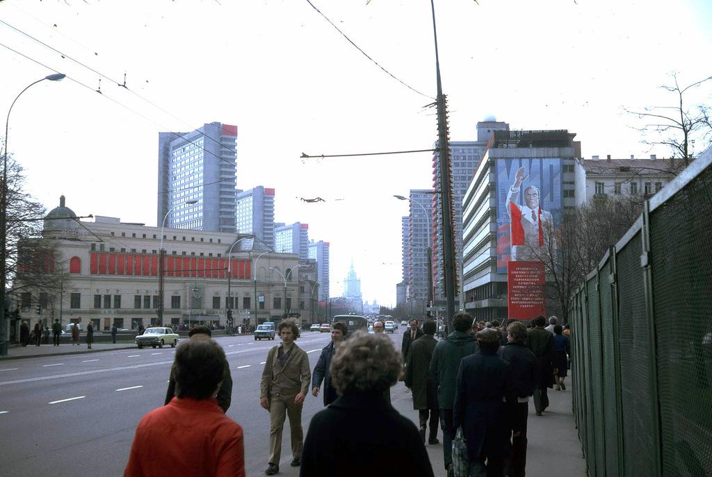 596 Москва 1982 года: семнадцать мгновений весны