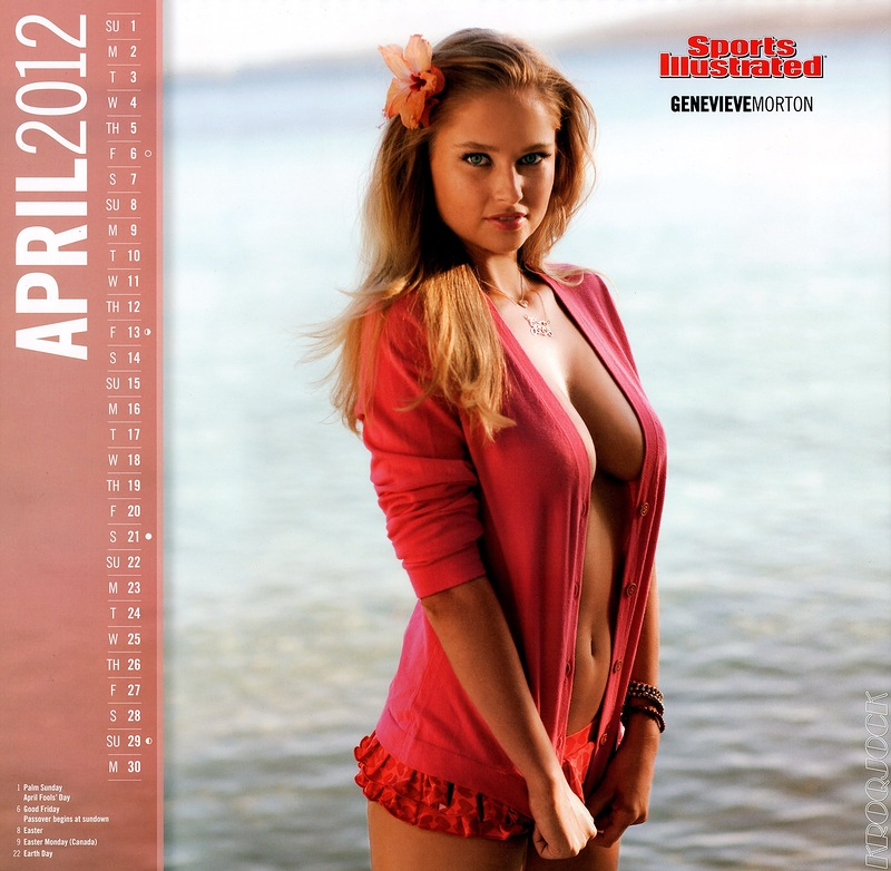 Sports Illustrated 6120 Kalender 2012
