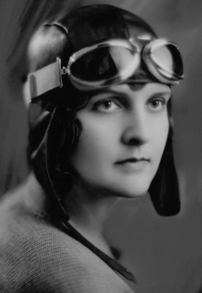 6121 Женщины пилоты прошлого