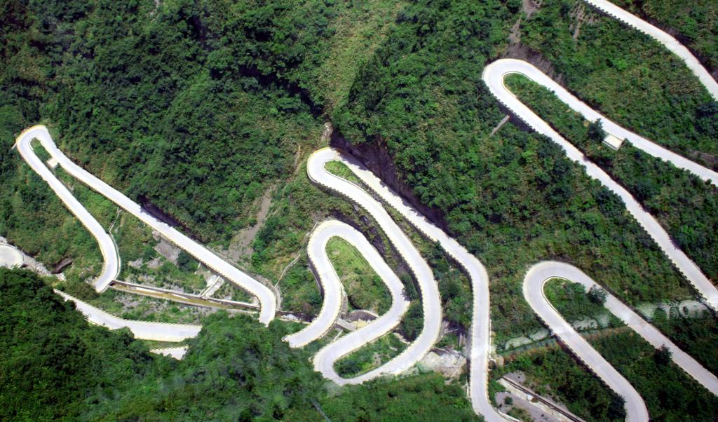 6156 Дорога в небеса – самая страшная дорога Китая
