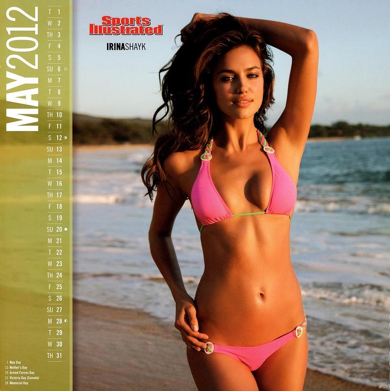 Sports Illustrated 7119 Kalender 2012