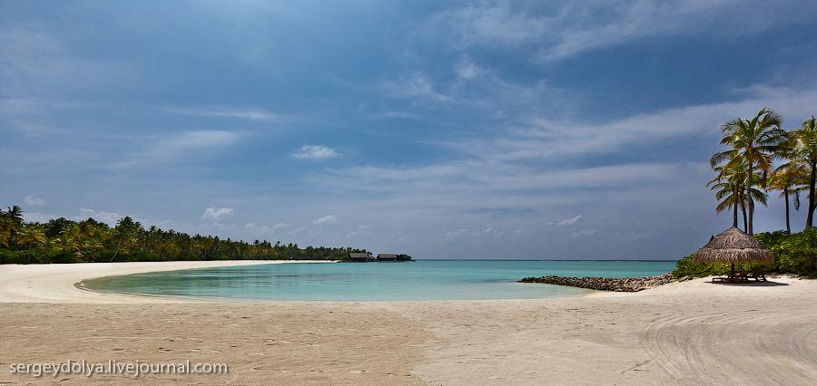 7145 Лучший в мире курортный отель на Мальдивах