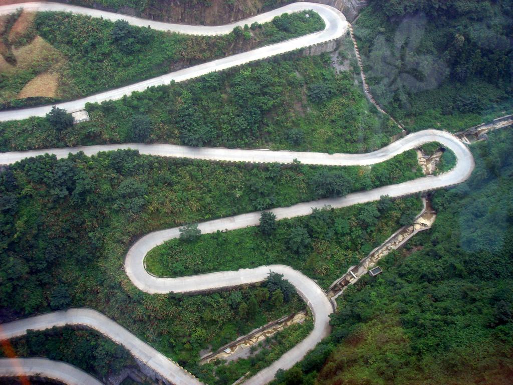 7154 Дорога в небеса – самая страшная дорога Китая