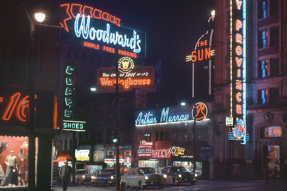 795 Цветные фотографии Фреда Херцога из 1960 х: Ванкувер и не только