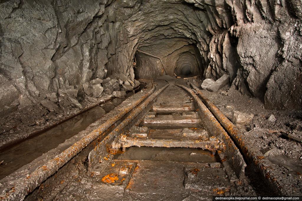 Tambang bijih Ditinggalkan 8102 besi