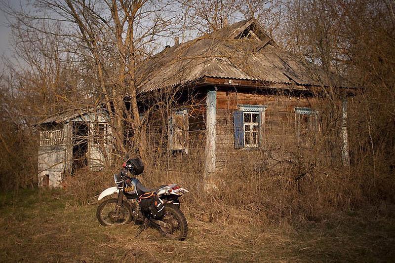 8121 Два дня на мотоцикле в чернобыльской зоне