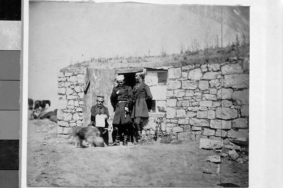 840 Фотографии времен Крымской войны