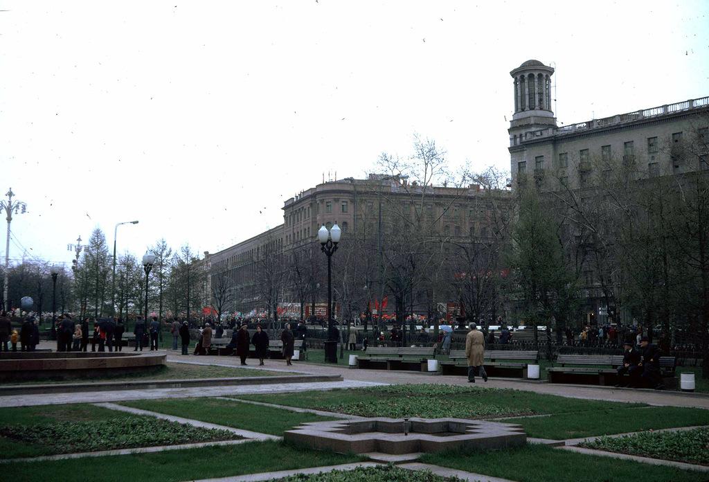 873 Москва 1982 года: семнадцать мгновений весны