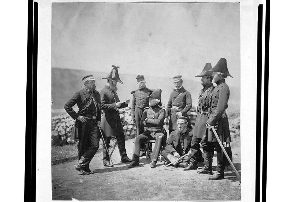 937 Фотографии времен Крымской войны