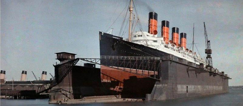 958 Англия на цветных фото 1928 года