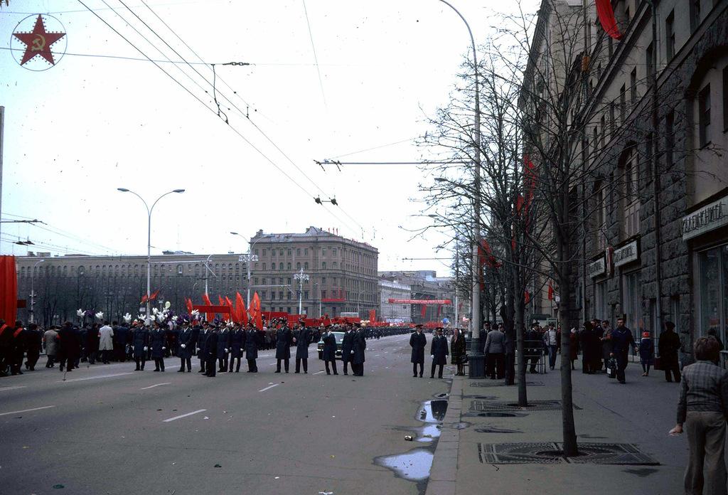 964 Москва 1982 года: семнадцать мгновений весны