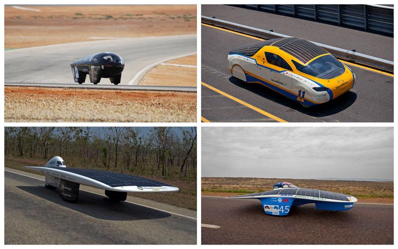 Автомобили на «солнечной тяге»