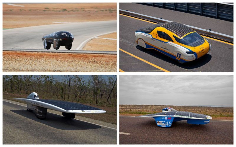 BIGPIC20 Автомобили на солнечной тяге
