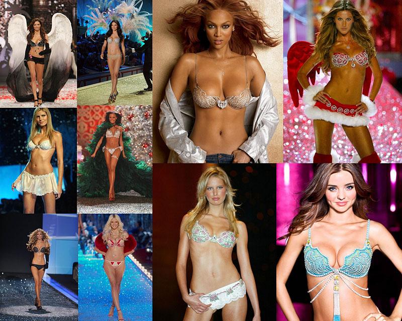 BIGPIC61 Фантастические бюстгальтеры Victoria's Secret за 10 лет