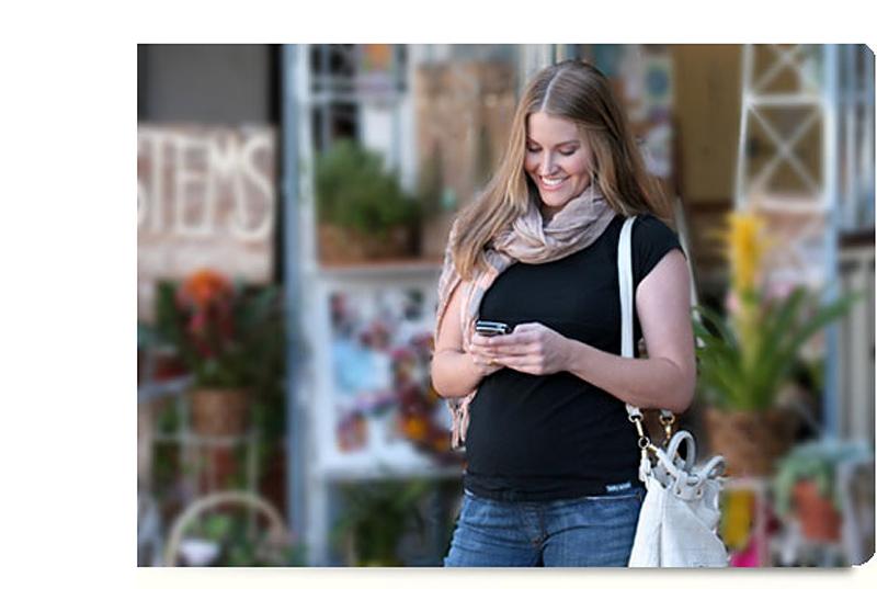 BIGPIC65 Maternity pakaian: tampilan segar