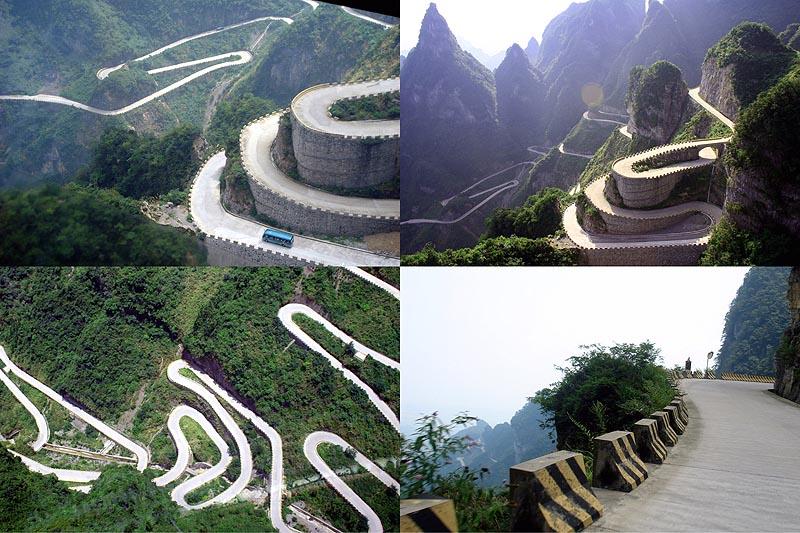 BIGPIC81 Дорога в небеса – самая страшная дорога Китая