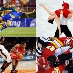 Такой разнообразный спорт