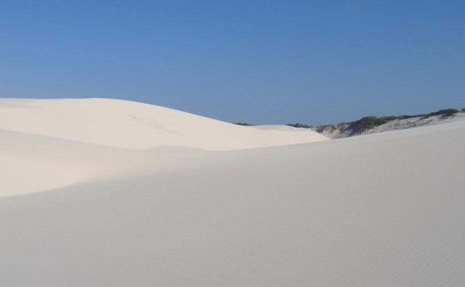 BKPp2000 Простыни Мараньяна: Белые пески Lencois Maranhenses Бразилии
