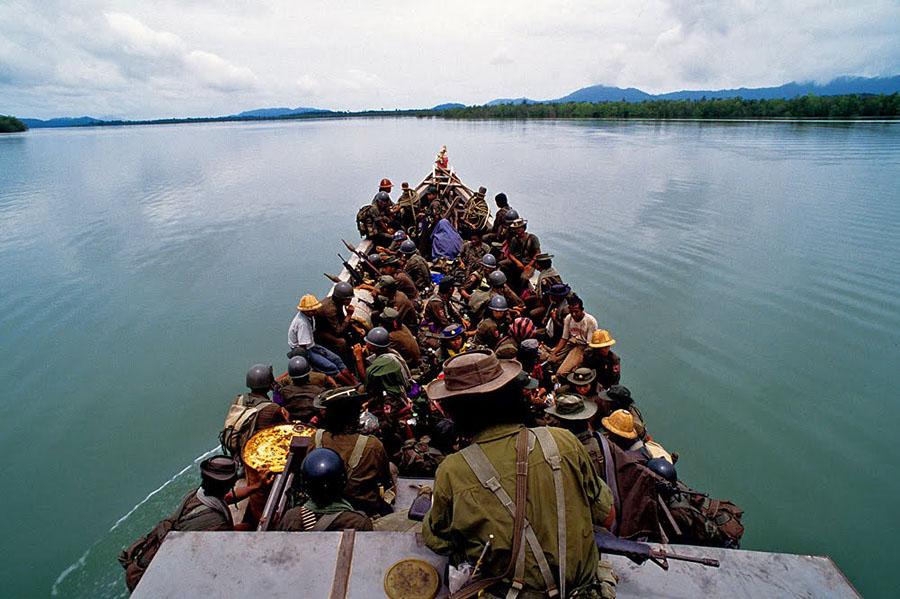 Burma MNLA Дао военного фотокорреспондента от Брюса Хейли