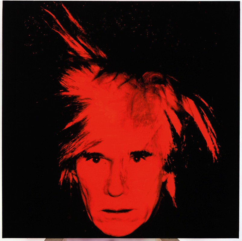a report on the serial sets of portraits car crashes electric chairs and flowers by andy warhol