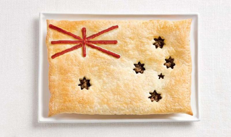 australia 700x476 Вкусные флаги разных стран мира