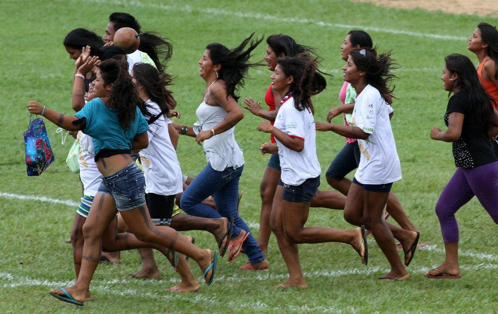 14 brazil adat asli American Games